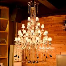european style coffee candle chandelier villa living room crystal lamp el club office lighting engineering chandelier