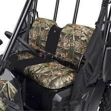 utv bench seat cover camo