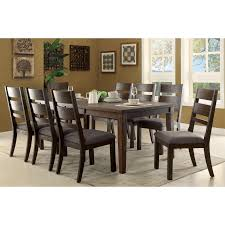 expandable furniture. Furniture Of America Rayshin Rustic Espresso Expandable Dining Table - Free Shipping Today Overstock 19135891 A