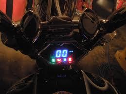 digital speedo wiring details honda fury forums honda chopper forum how the dakota fits between the risers