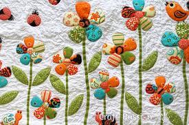 Flower Applique - Free Applique Pattern | Craft Passion & flower applique pattern Adamdwight.com