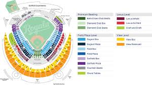 Kc Royals Seating Chart