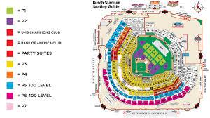 Busch Stadium Concert Seating Chart 38 Precise Busch Stadium Suite Map