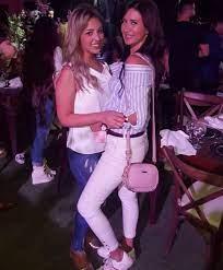 """قصة صور .. """"تمارا و سيلين"""" شاهدات على صداقة زوجات نجوم الأهلى - اليوم السابع"""