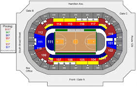 Seating Charts Cure Insurance Arena