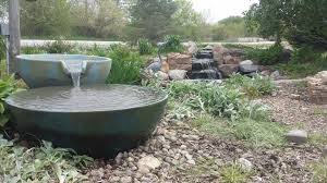 above ground pond pump diy koi waterfall how to build a fish small ideas setup plans