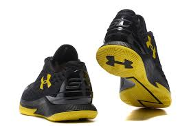 under armour basketball shoes low. under armour ua stephen curry one low champion black yellow mens basketball shoes trainers