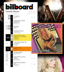 Comedy Album Charts 12 On Billboard Comedy Album Chart The Wendy Experience