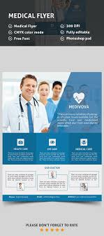 Medical Brochures Templates Stunning Medical Flyer PSD Template Flyers Design Pinterest Medical