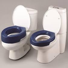 raised padded toilet seat