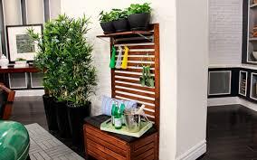 ikea applaro bench for outdoor storage