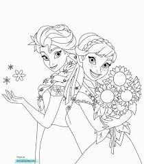 Kleurplaten Prinses Elsa