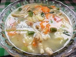 4 siung bawang putih, memarkan. Resep Sop Ceker Ayam Bening Rasanya Enak Dan Gurih Resep Masakan Rumahan Homemade