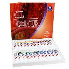 oil color oil paint art oil painting paper cerulean blue oil paint