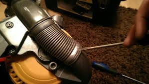 how to dc25 yolk loom replacement remove the side hose by levering it off the housing either end if yours is split as they sometiems do you need this dyson dc25 duct hose