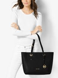 womens totes michael michael kors walsh large saffiano leather tote black don terrario