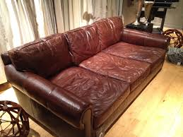 Restoring Antique Leather I Tried This Sofa Out At Restoration Hardware The Seats Are Very