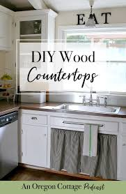 join us as we talk about installing using and loving wood counters for kitchens