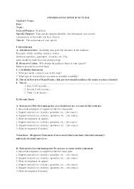 Informative Speech Outline Template Simple Informative Speech Outline Lovlyangels Com