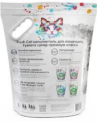Наполнитель <b>Fresh Cat Кристаллы чистоты</b> для кошек - купить в ...