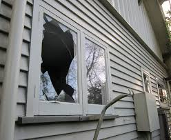 ed or broken glass in your window
