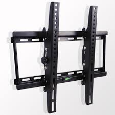 Flat Panel Slim Tilting TV Wall Mount hanging Plasma LED LCD 3D 26 32 40 42