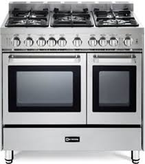 gas range. Verona VEFSGG365NDSS 36\u0026quot; Pro-Style Gas Range With 5 Sealed Burners 2 Turbo-