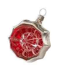 Reflex Blende Mit Wasserkugel Leonischer Draht ø 6cm Schatzhauser Weihnachtskugeln Lauscha Glas