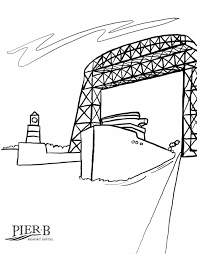 See actions taken by the people who manage and post content. Pier B Resort Coloring Pages Pier B Resort Duluth Minnesota