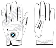 BMW Convertible bmw custom order : Wonderful Custom Designed Golf Gloves for BMW of San Francisco ...