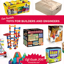 These toys are so fun and educational. We love them all. Our marble run Kids Gift Guide | Toys for Engineering Building TinkerLab