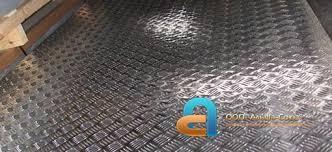 <b>Алюминиевый рифленый лист</b>
