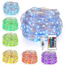 Wire Lights Bedroom Kohree Led String Lights Usb Powered Multi Color Changing