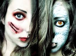 red riding hood vs the wolf makeup by chuchy5 little