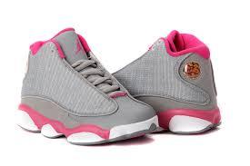 jordan shoes 2016 for girls. girls air jordan 13 retro gray pink white for sale-3 shoes 2016 o