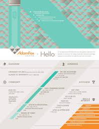 Adam Fox Creative Branding Design Advertising Resume