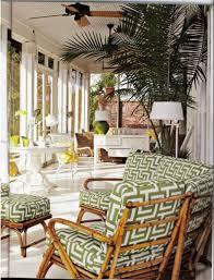 outdoor patio fans pedestal. Porches - Porch Patio Outdoor Bamboo Bright Green Yellow White Windows Fan Pedestal Table Furniture Fans
