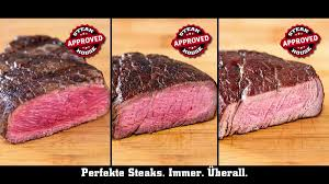 Steak Color Chart Steak Thermometer Perfect Steaks Always Everywhere