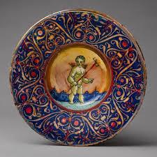 best maiolica images italian pottery pottery  urbino majolica dish circa 1545 italian palt giorgio andreoli 475x475