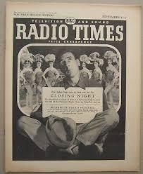 Radio Times/1957/Eric Sykes/Shirley Bassey half page/Wensley Pithy/John  Fraser/   eBay