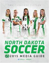 North Issuu By Dakota 2015 Soccer Media Of University Guide Und - XLIV Superbowl Predictions