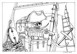 Piraten Project Kleurplaten Johan Breuker Tekenaar