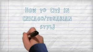 citing how to cite in chicago turabian style a three minute citing how to cite in chicago turabian style a three minute tutorial