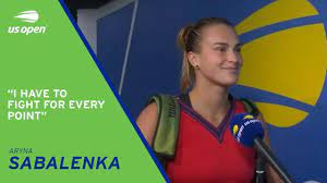 Aryna Sabalenka Pre-Match Interview | 2021 US Open Semifinal - YouTube