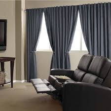 absolute zero velvet blackout home theater curtain panel
