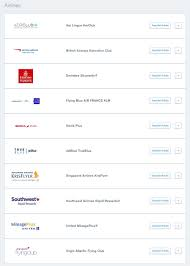 Chase Transfer Partners 2019 Airline And Hotel Ratios