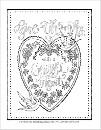 Feel free to print and color from the best 40+ valentine heart coloring pages at getcolorings.com. A Grateful Heart Coloring Page Flanders Family Homelife