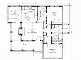 simple floor plan of a house. Two Bedroom House Simple Floor Plans 2 Plan Of A T