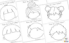 Preschool Feelings Chart Printable Feelings Activities Emotions Worksheets For Kids Fun