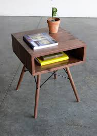 ... Elegant Image Of Furniture For Living Room Decor With Mid Century  Modern Side Table : Entrancing ...